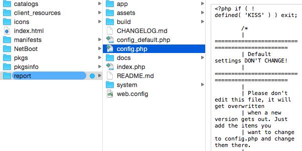 Munki: Part 3 aka Setting up MunkiReport-PHP to monitor your Munki Setup (4/6)