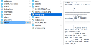 rename the default config php file