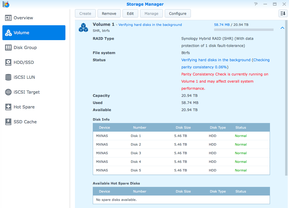 synology-1515-storage-manager