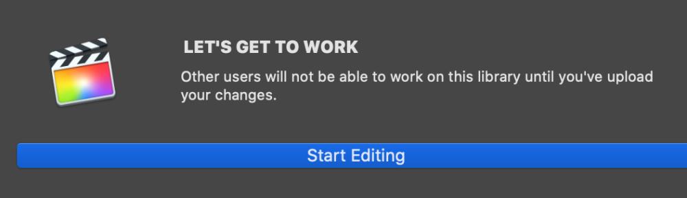 postlab start editing